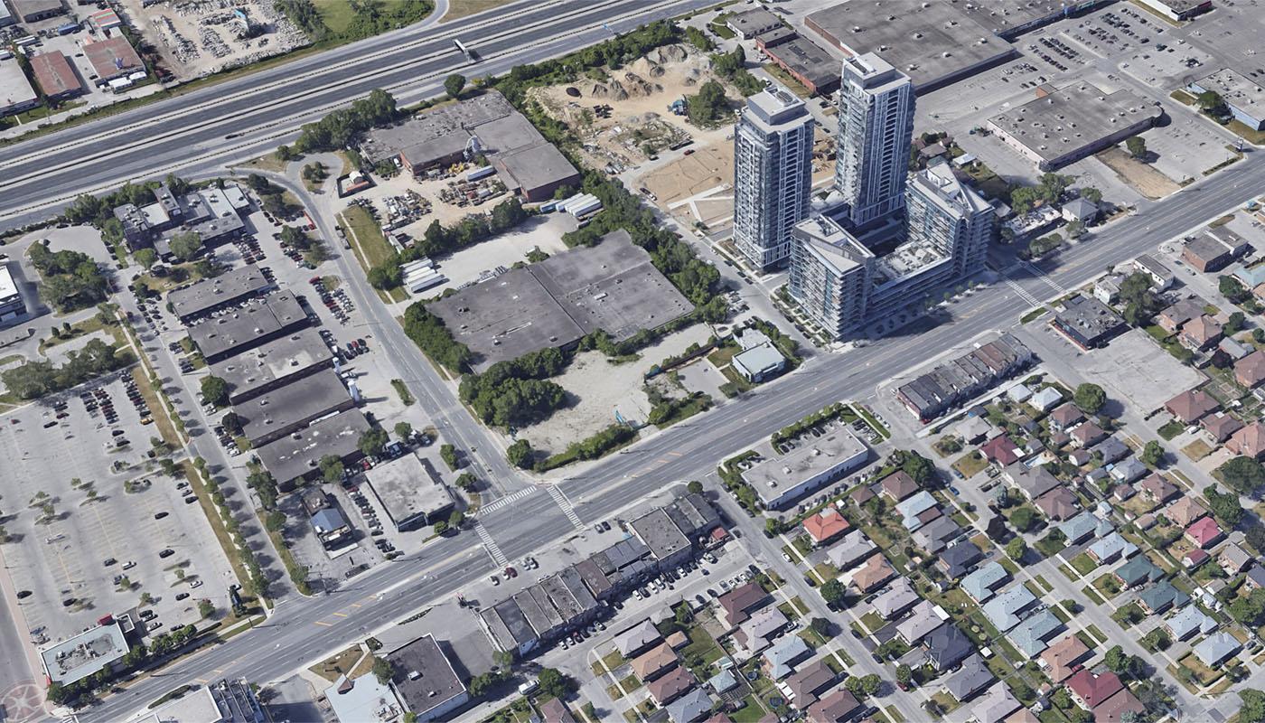 1049 The Queensway Condos Google Earth