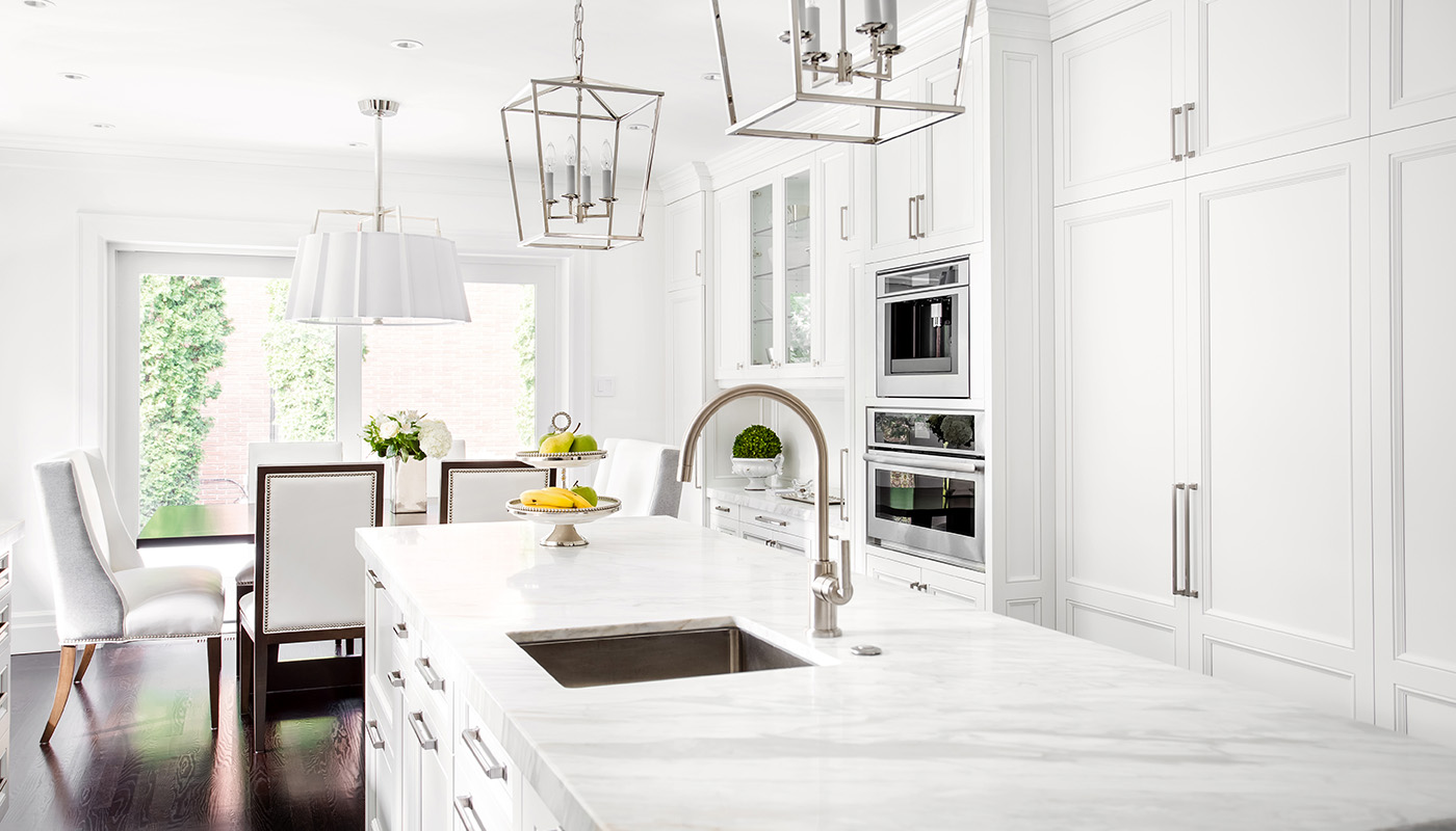 Classic White Kitchen RealTorontoWest