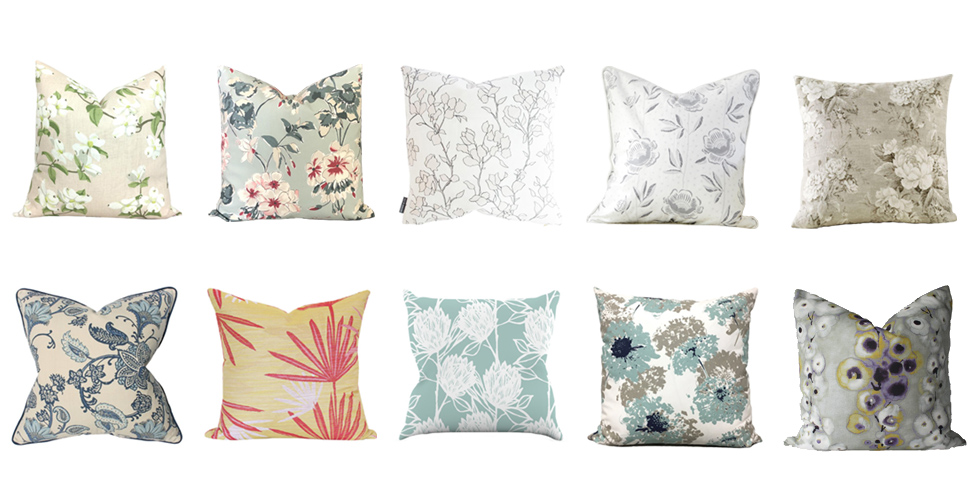 The Best Floral Pillows To Spruce Up Your Decor