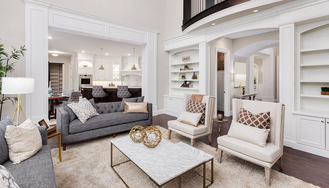 Luxurious living room RealTorontoWest