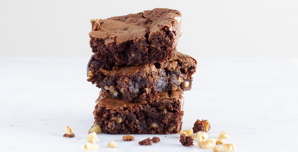 Rich And Chewy Chocolate Brownies