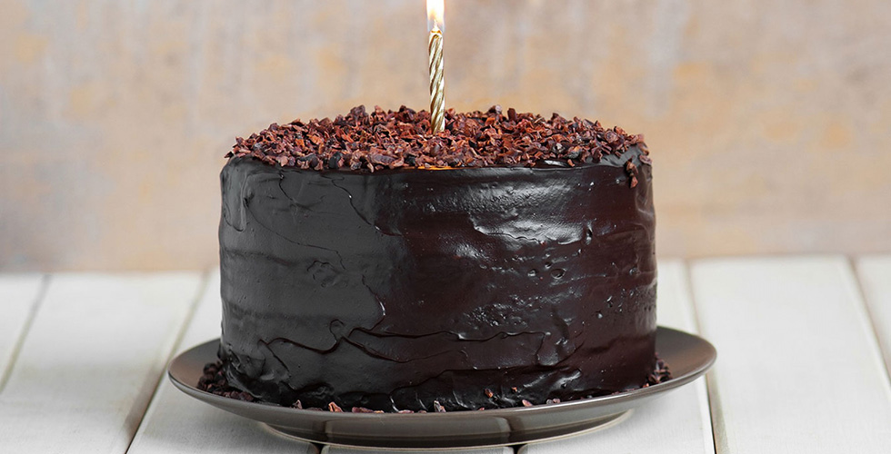 Delectable Deep Dark Chocolate Cake
